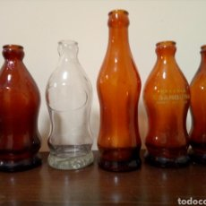 Botellas antiguas: BOTELLAS ESPUMOSOS GÓMEZ. Lote 160738430