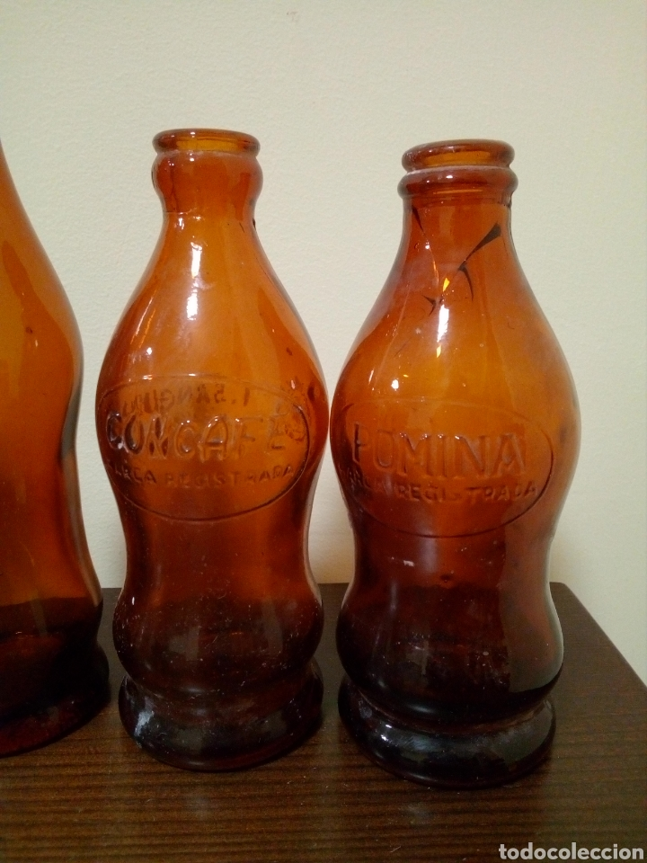 Botellas antiguas: Botellas espumosos Gómez - Foto 2 - 160738430