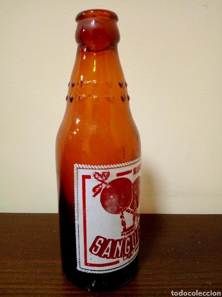 Botellas antiguas: Botella naranja t sanguina - Foto 3 - 160739146
