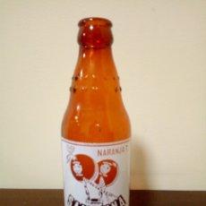 Botellas antiguas: BOTELLA NARANJA T SANGUINA. Lote 161030537