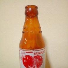 Botellas antiguas: BOTELLA NARANJA T SANGUINA. Lote 161400532