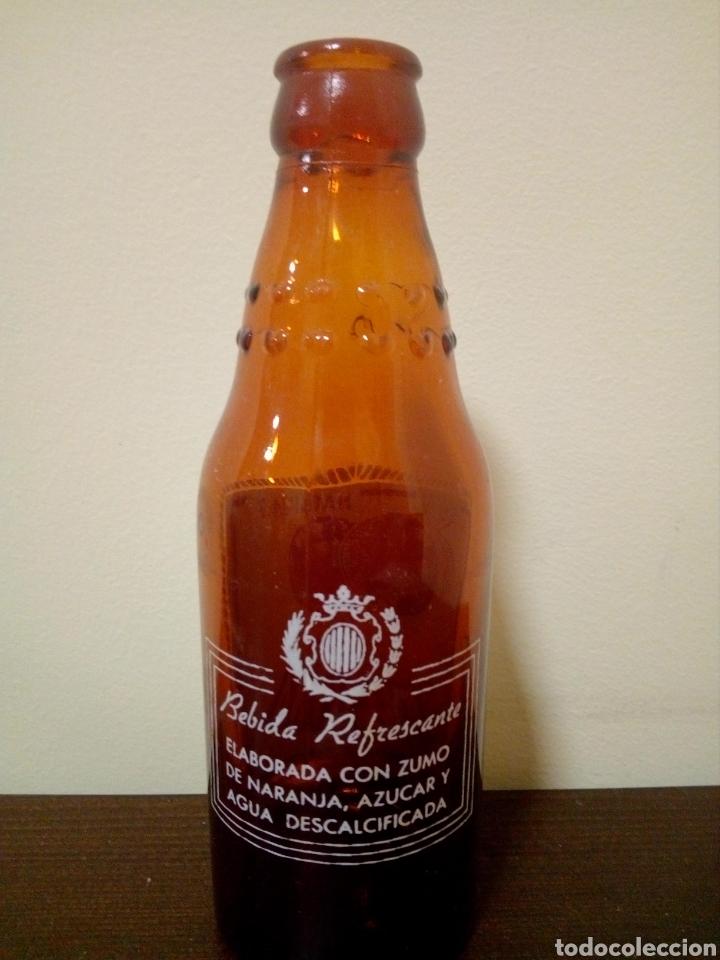 Botellas antiguas: Botella naranja t sanguina - Foto 2 - 161400532