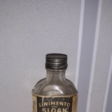 Botellas antiguas: ANTIGUO FRASCO CON LINIMENTO. Lote 161502337