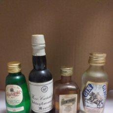 Botellas antiguas: LOTE 28 BOTELLAS MINIATURA. Lote 162950090