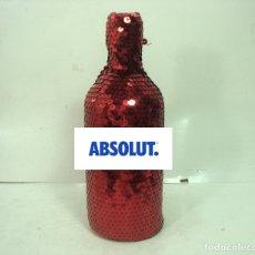 Bottigglie antiche: 2008 FUNDA BOTELLA COLECCION EDICION LIMITADA - ABSOLUT VODKA - MASQUERADE LENTEJUELAS WODKA 4. Lote 165155778