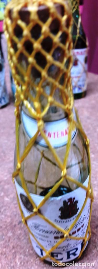 Botellas antiguas: BOTELLIN DE BRANDY TERRY. FERNANDO A. DE TERRY. PUERTO DE SANTA MARIA. 12 CMS - Foto 4 - 169964260