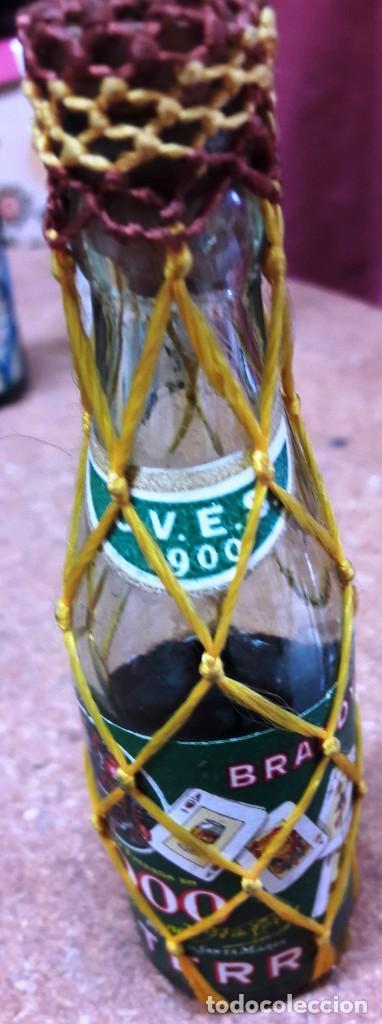 Botellas antiguas: BOTELLIN DE BRANDY TERRY. FERNANDO A. DE TERRY. PUERTO DE SANTA MARIA. 12 CMS - Foto 8 - 169964260
