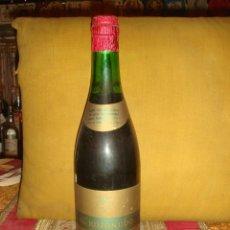 """Botellas antiguas: ANTIGUA BOTELLA VINO """"EL KOJONUDO"""". ROMERO LOPEZ HNOS. ALCAZAR DE SAN JUAN. SIN ABRIR. C1975. Lote 44250715"""