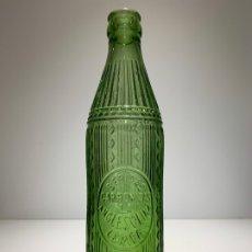 Botellas antiguas: ANTIGUA BOTELLA BEBIDAS CARBONICAS LA ANGLESOLINA LERIDA LETRAS EN RELIEVE. Lote 175765418
