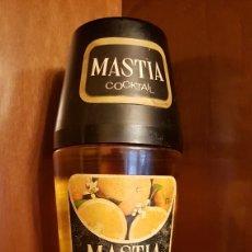 Botellas antiguas: BOTELLA MASTIA COCKTAIL NARANJA. Lote 175863427