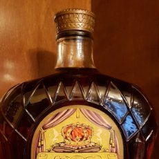 Botellas antiguas: SEAGRAM'S CROWN ROYAL. Lote 175863713