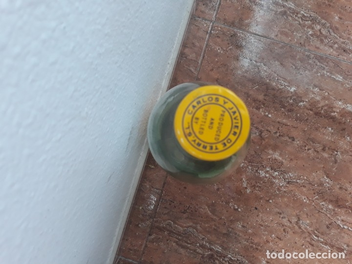 Botellas antiguas: Botella grande 2 l brandy 501 amarilla - Foto 2 - 177138953