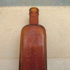 Botellas antiguas: ANTIGUA BOTELLA CEREGUMIL - B. FERNÁNDEZ SÁNCHEZ -. Lote 177279605