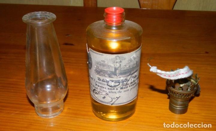 Botellas antiguas: Botella QUINQUE o Lámpara de Aceite?? - Foto 5 - 177879474