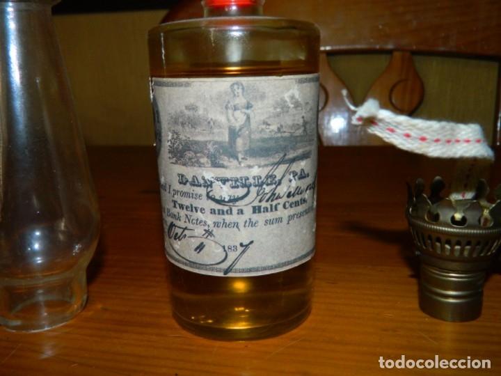 Botellas antiguas: Botella QUINQUE o Lámpara de Aceite?? - Foto 6 - 177879474