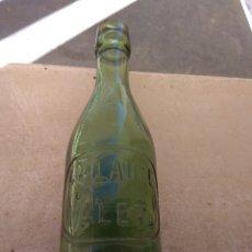 Botellas antiguas: ANTIGUA BOTELLA DE GASEOSA CHARLES LAUZE ALET - FRANCIA -. Lote 178725591