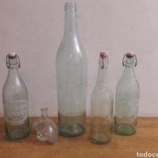 Botellas antiguas: LOTE BOTELLAS. Lote 179551362