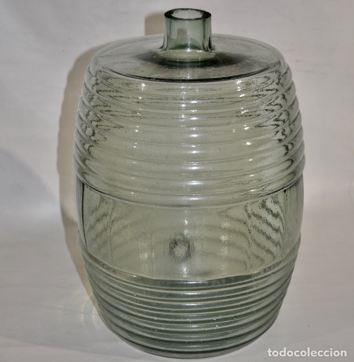 Botellas antiguas: Botella de farmacia para perfume a granel - Foto 5 - 182124902