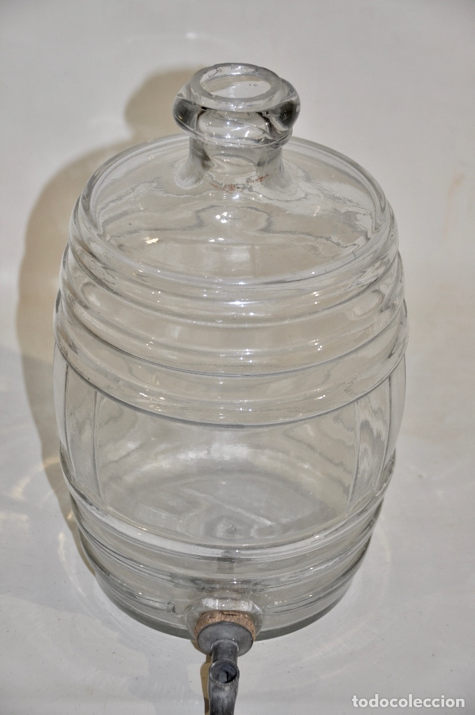 Botellas antiguas: Botella de farmacia para perfume a granel pequeña - Foto 3 - 182126268