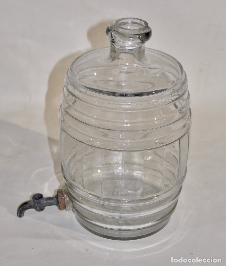 Botellas antiguas: Botella de farmacia para perfume a granel pequeña - Foto 4 - 182126268