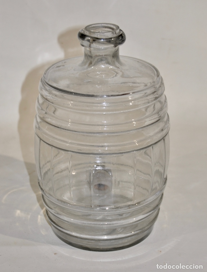 Botellas antiguas: Botella de farmacia para perfume a granel pequeña - Foto 5 - 182126268