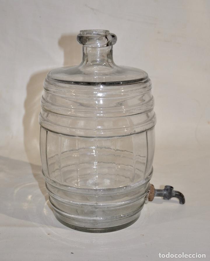 Botellas antiguas: Botella de farmacia para perfume a granel pequeña - Foto 6 - 182126268