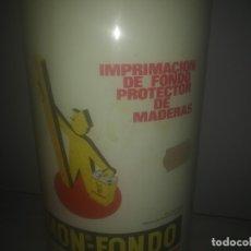 Botellas antiguas: LATA ANTIGUA DE XYLAMON BAYER ENVASE VACIO PROTECCIÓN PARA MADERA. Lote 182567043