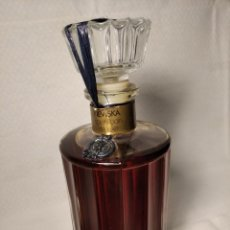 Botellas antiguas: BOTELLA 1L NEVISKA - APRÉS BAIN THE LUXE ¿COLONIA O PERFUME ANTIGUO?. Lote 184331085