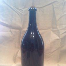 Botellas antiguas: BOTELLA GRAN TAMAÑO CRISTAL NEGRO. Lote 184527656