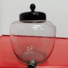 Botellas antiguas: ANTIGUO DISPENSADOR DE COLONIA DE CRISTAL. Lote 188637052