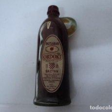 Botellas antiguas: PRECIOSA BOTELLA ANTIGUA PATXARAN ORDOKI BAZTAN ORIGINAL SIN ABRIR CON ETIQUETAS NAVARRA . Lote 188824597