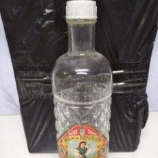 Botellas antiguas: BOTELLA ANÍS DE LA ASTURIANA. 24CM ALTURA.. Lote 212672067