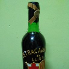 Botellas antiguas: TETRACAMPIONS DE LLIGA 91-92-93-94 - FUTBOL CLUB BARCELONA- BOTELLA VINO. Lote 191484337