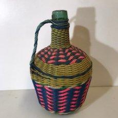 Botellas antiguas: DAMAJUANA , VIRESA. Lote 191742417