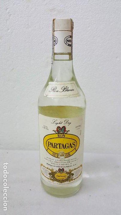 RON BLANCO PARTAGAS ANTIGUO (Coleccionismo - Botellas y Bebidas - Botellas Antiguas)