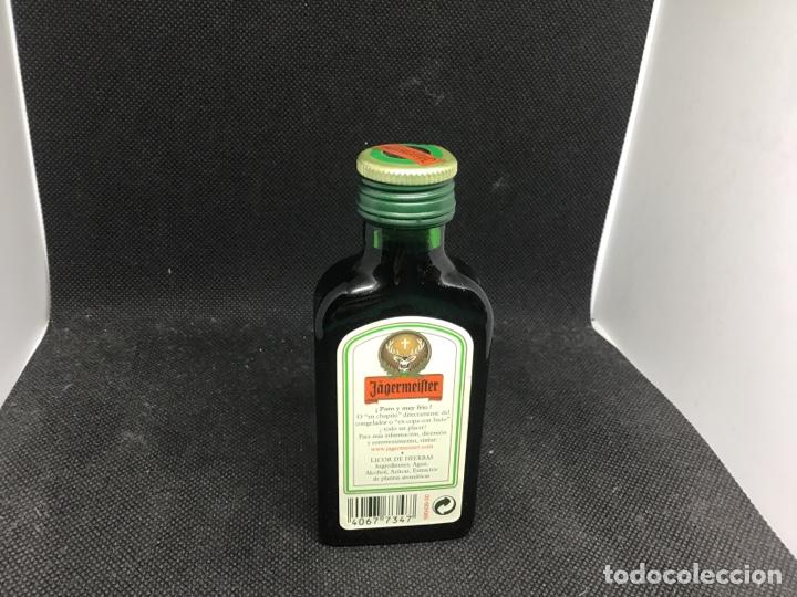 Botellas antiguas: Jagermeifter mini botella - Foto 2 - 192724132