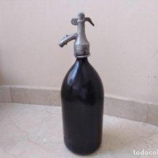 Botellas antiguas: ESPECTACULAR SIFÓN ANTIGUO. Lote 194186435