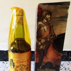Botellas antiguas: BRENDY CARLOS 1 AÑO 1960. Lote 194557422