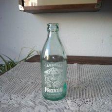 Botellas antiguas: BITELLA PEQUEÑA GASEOSAS FROXON. PALAS DE REY (LUGO). Lote 194686105