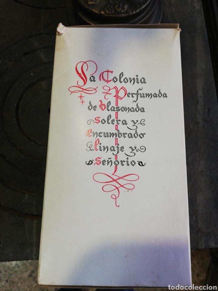 Botellas antiguas: Flor de Blason, Myrurgia, grande, 19 cm, entera - Foto 5 - 194876231