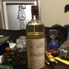 Botellas antiguas: ANTIGUA BOTELLA ANIS DULCE PEDRO DOMEQ. Lote 194908246