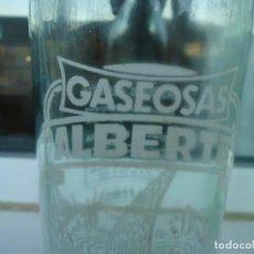 Botellas antiguas: BOTELLA DE SASEOSA ALBERTE. Lote 194938492
