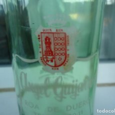 Botellas antiguas: BOTELLA DE GASEOSA ANGEL GUIJARRO. Lote 194938596