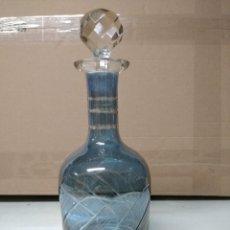 Botellas antiguas: BOTELLA FABRICADA EN CRISTAL DE ROCA.. Lote 194970883