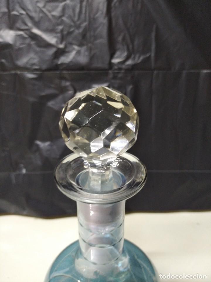 Botellas antiguas: Botella fabricada en cristal de roca. - Foto 5 - 194970883