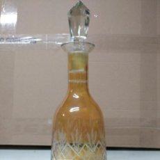 Botellas antiguas: BOTELLA FABRICADA EN CRISTAL DE ROCA.. Lote 194970903