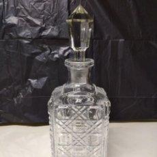 Botellas antiguas: BOTELLA FABRICADA EN CRISTAL DE ROCA.. Lote 194971065