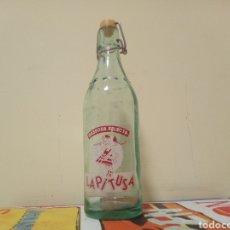 Botellas antiguas: BOTELLA LA PITUSA GASEOSA SELECTA MEDIO LITRO. Lote 195096516