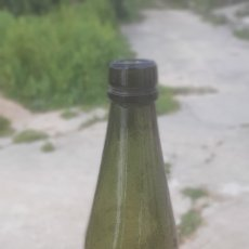 Botellas antiguas: BOTELLA ANTIGUA SOPLADA. Lote 195188206