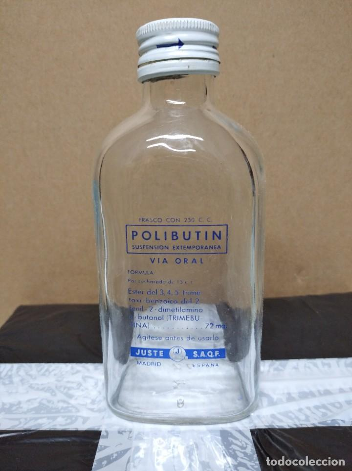 ANTIGUA BOTELLA POLIBUTIN. (Coleccionismo - Botellas y Bebidas - Botellas Antiguas)